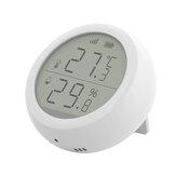 Bakeey Tuya Z-bee WIFI Temperatura e Umidade Sem Fio Sensor LCD Uso de tela com gateway para casa inteligente