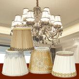 Lâmpada de renda do vintage Shades Fabric Pingente Lustre de parede cobre a decoração da casa