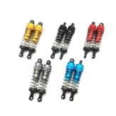 Amortiguador de choque de metal 2PC para Wltoys 144001 1/14 4WD Racing de alta velocidad RC Coche Modelos de vehículos Piezas