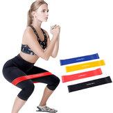 3 stks / set 20lb + 30lb + 40lb Yoga Weerstandsbanden Rekken Rubber Loop Oefening Pilates Fitnessapparatuur