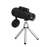 40x60 9500m عالي الوضوح Zoom Monocular BK4 Telescope Night Vision + Tripod للجوال هاتف