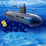 RC Mini Submarine 6 Canais Controle Remoto Under Water Ship Model Kids Toy