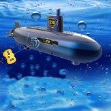 RCミニ潜水艦6チャンネル水の下でリモートコントロールモデル子供のおもちゃ