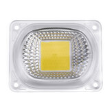 High Power 50W Wit / Warm Wit LED COB Light Chip met lens voor DIY Flood Spotlight AC220V