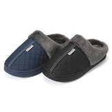 Men Home Slippers Winter Warm Indoor/floor Shoes Bathroom Plush House Slippers Fur Slip On Men Shoes