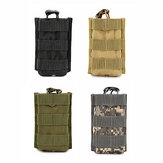 MOLLE Mini Walkie Talkie Sac Tactique Militaire Camouflage Camping En Plein Air Chasse Sac De Stockage Poche
