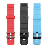 20mm Width Watch Band Blue Red Two Colors TPU Material Watch Strap