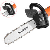 Drillpro 11.5 Inch Chainsaw Bracket Changed Angle Grinder Into Chain Saw Woodworking Tool