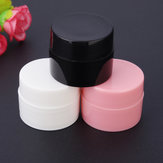 Plastic Empty Facial Cream Container Refillable Bottle Nail Art UV Gel Travel Packing Tools