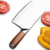Utilisationpolyvalentedecoupeurd'acierinoxydable de coupeur de boucher pour la cuisine à la maison ou Resta