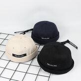 Erkek Yaz Sokak Trend Kavun Şapka Brimless Şapka