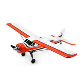 XK A900 DHC-2 2.4GHz 4CH Moteur Brushless Système 3D/6G 6-Axis Gyro Voltige EPP RC Avion RTF Compatible Futaba