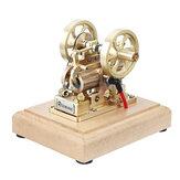 Eachine EM1 micromotor model messing dubbele zuiger compleet STEM motor speelgoed collectie geschenken