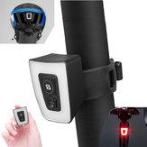 ROCKBROSTT30Велосипедныйшлемзаднегосвета 5Modes USB аккумуляторная Водонепроницаемы Сигнальная лампа с подсветкой велосипеда
