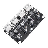4 USB Fast Charging Module Board 12V24V to QC2.0 QC3.0 Step Down Power Supply Module 12V 24V