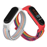 Holdmi 2-IN-1 confortevole cinturino dell'orologio Nylon Banda + sostituzione della copertura della cassa dell'orologio in TPU per Xiaomi Mi Banda 5 / Xiaomi Mi Banda 4/3 Non originale