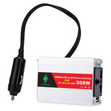 600W Peak Car Power Inverter DC 12V to AC 220V with USB Display with Battery Clip Suitable for Solar Household Appliances Outdoors