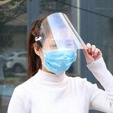10 peças de proteção Chapéu Novo trecho de ajuste de proteção HD PET Anti-Fog Protective