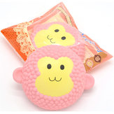 2PCS Areedy Squishy Jumbo Monkey Cake 15cm Scented Slow Rising Packaging Gift Decor