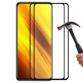 ENKAY 1/2/5/10 Pcs 9H Crystal Clear Anti-Explosion Anti-Scratch Full Glue Cobertura total Protector de pantalla de vidrio templado para POCO X3 NFC No original