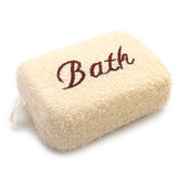 KCASA KC-BT298 Bathroom Boby Soft Household Bath Sponge Spin SPA Massage Shower Cleaning Brush Square Towel Cloth Bathing