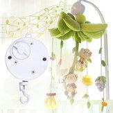 Bebek Beşik Yatak Asılı Çan Rüzgar-up Dönen Müzik Kutu Çocuk Oyuncak Hediye Geliştirmek