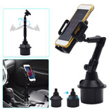 Universal 360 Rotation Flexible Arm Car Phone Mount Gooseneck Cup Holder for All Smartphone POCO X3 NFC