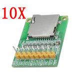 10 stücke 3,5 V / 5 V Micro SD Karte Modul Tf-kartenleser SDIO / SPI Schnittstelle Mini Tf-karte Modul