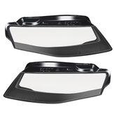 Phare de voiture Phare de couverture de phare gauche / droite pour Audi A4 B8 2009-2012