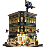 Kit luce LED per Lego 10211 Creator Grand Emporium Blocks Accessori Giocattoli Decor