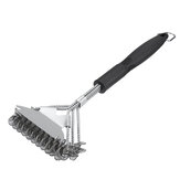 18 Inch Bristle Free Grill Brush Tool Scraper Brush Stainless for Cleaning BBQ