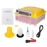 Controlador de controle de temperatura de galinha de incubação digital de incubadora digital de 36 ovos