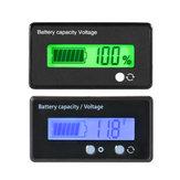 12V 24V 36V 48V 6V-63V एलसीडी वोल्टमीटर लीड-एसिड बैटरी क्षमता संकेतक