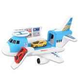 3/7 шт. Моделирование трек инерционный самолет большой размер пассажирский самолет детская модель авиалайнера игрушка для детей на день ро