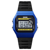 SKMEI 1413 LED Digital Watch Square Dial Student Watch