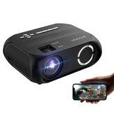 BlitzWolf®BW-VP11 LCD LED HD Projektör 6000 Lümen Işınlayıcı 1280x720 Piksel Kablosuz Telefon Aynı Ekran 16,7 Milyon Renk 3500: 1 Kontrast Oranı Dikey Keystone Mini Taşınabilir Ev Sineması Outdoor Film