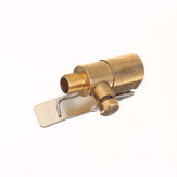 1 ST Messing 8mm Autoband Wiel Band Auto Lucht Blaas Pomp Ventiel Clip Klem Connector Adapter