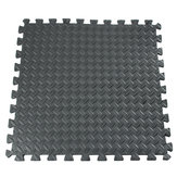 61x61cm EVA Foam Floor Interlocking Tile Mat Show Floor Gym Sala giochi per esercizi Yoga Mat Black