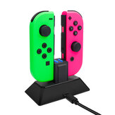 MIMD-429 2 in 1 Gamepad Charger for Nintendo Switch NS Joy-con Game Controller Charge Stand Type C Charging Dock
