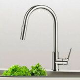 Viomi Brand Stainless Steel Kitchen Basin Sink Faucets Pull Out Single Handle Cold Hot Water Mixer Deck Mount Aerater Tap from Xiaomi Youpin