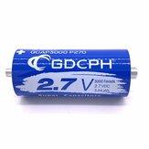 GDCPH 2.7V3000F Autostarter Gleichrichter Superkondensator Ausgleichsplatte 500F