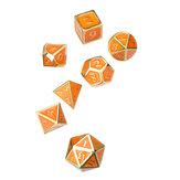 Dadi in metallo solido Dadi poliedrici Gioco di ruolo Dice Gadget RPG
