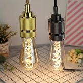 E27 4 W ST64 Edison Kısılabilir Temizle Altın Sıcak Beyaz Retro Edison LED Lamba Ampul AC110-130V AC220-240V