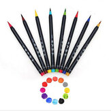 20 Colors Marker Pen Set Watercolor Drawing Painting Brush Artist Sketch Manga Marker Pen Colored Art for Student School Supplies