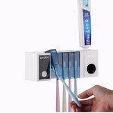 Bakeey Multifunctioneel UV Automatische tandenborstel Tandpasta-opbergrek Geschikt voor de US EU
