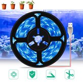 LED Grow Light Full Spectrum Waterproof USB LED Strip Lights Phyto Lamps for Greenh