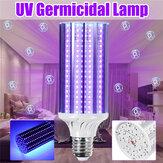 AC85-265V 80/120 / 252LED UV殺菌トウモロコシランプ395nm E27屋内用殺菌電球