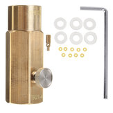 TR21-4 W21.8-14 CO2 to 425g Cylinder Adapter CO2 Filling Adapter for Sodastream