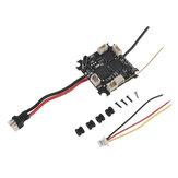 Happymodel Mobula6 Repuestos Crazybee F4 Lite 1S Controlador de vuelo AIO 5A BLheli_S ESC y Receptor y 40CH 25mW VTX para Whoop RC Drone FPV Racing