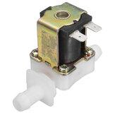 12 V DC Elektrisches Magnetventil Wasser Lufteinlass Strömungswächter Normalerweise Geschlossen 12mm